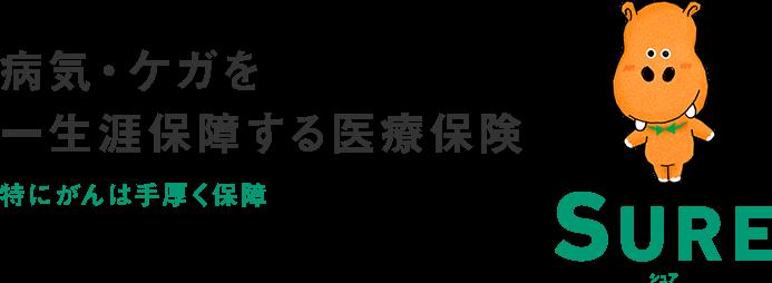 ソニー損保「医療保険シュア(SURE)」